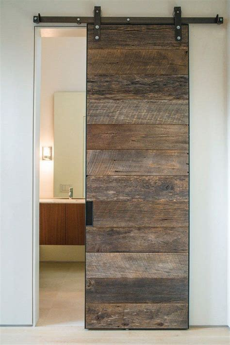 Interior Sliding Barn Doors Ideas Modern Bathroom Design Rustic Sliding Barn Doors
