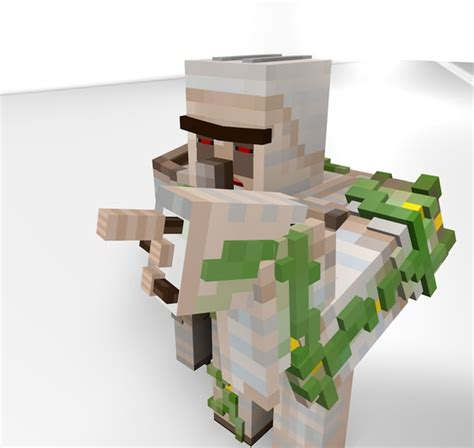 Minecraft Papercraft Iron Golem - pin minecraft papercraft iron golem on