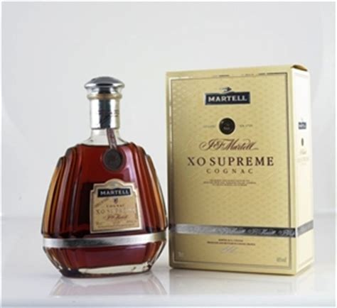 martell xo supreme martell xo supreme cognac 1 x 700ml auction