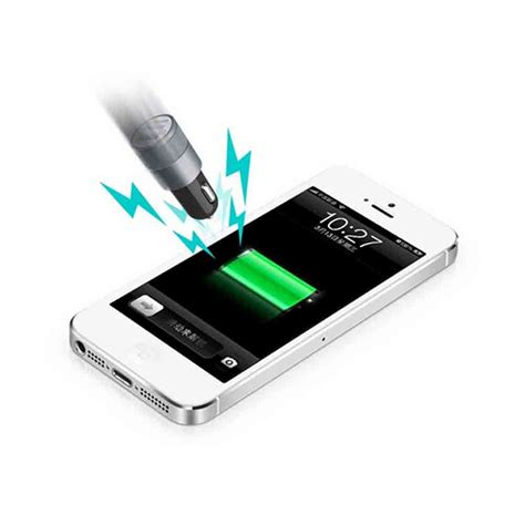 Diskon Murah Dual Usb Car Charger With Led Display 2 1a car charger dual usb 2 1a 1 0a black