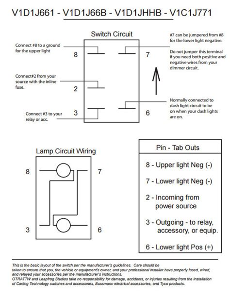 carling switch wire diagram