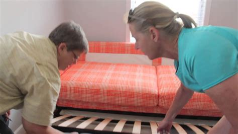 how to assemble ikea sofa bed how to use the ikea karlstad sofa bed in the sheep room at