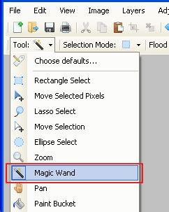 paint tool sai magic wand selecting everything www andrewsin