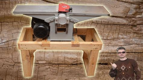 homemade wooden stand  jointer youtube