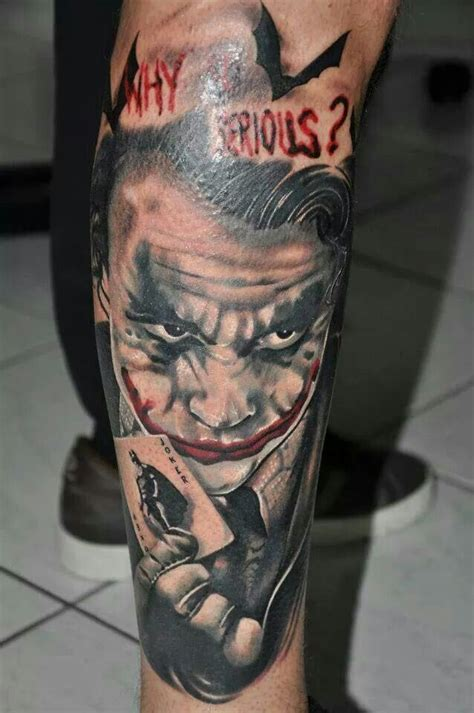 why so serious tattoo why so serious joker dccomics tattoos