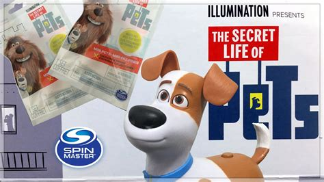 Watch For Blind Talking Secret Life Of Pets Blind Bags Amp Walking Talking Max Pet