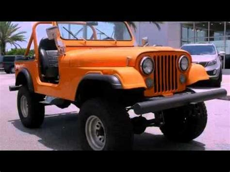 old jeep wrangler 1980 1980 jeep wrangler miami fl youtube