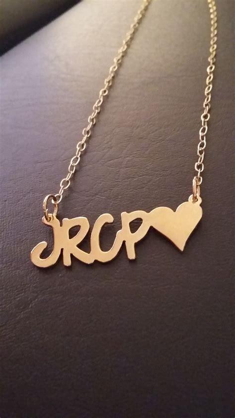 cadena de oro que diga te amo iniciales novios pareja dijes amor orolaminado mayoreo