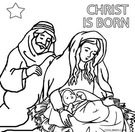 printable nativity scene to color free cut out teepee coloring pages