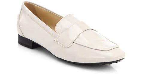 pink shoe cleaning crew tods light pink clean front leather loafers product 1