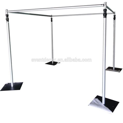 drape stand wedding use aluminum pipe stand for backdrop and party