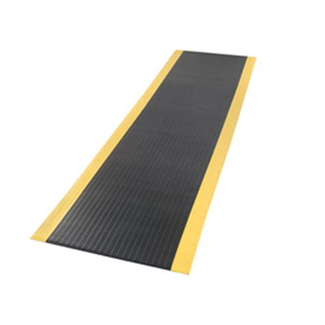 Wide Mat by Mats Runners Anti Fatigue Pebble 5 8inch Thick Black