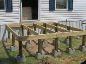 how to repair how to build a deck placing floor step