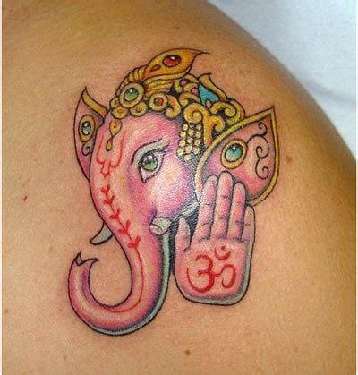 hindu elephant tattoo ganesh elephant