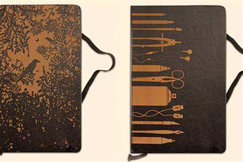 nearly normal design handcrafted calendar journals custom laser engraved moleskine notebooks uncrate