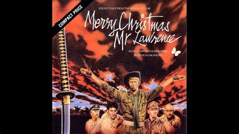 ryuichi sakamoto merry christmas  lawrence main title youtube