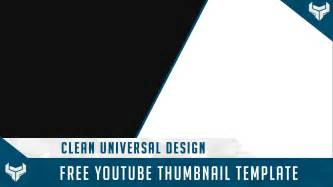 Thumbnail Template by Free Gfx Free Thumbnail Template Psd Universal