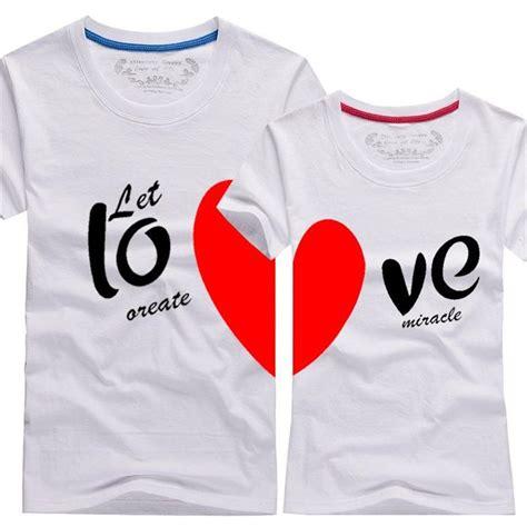 Cheap Relationship Shirts Wholesale Couples T Shirts Printing
