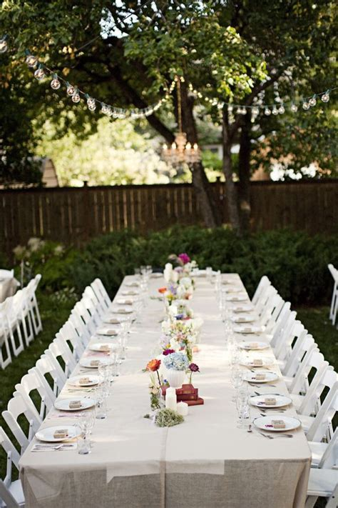 Backyard Canadian Garden Wedding   Wedding Wants   Wedding