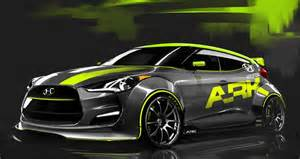 Used 2012 Hyundai Veloster Rally Ready 2012 Hyundai Veloster Headed To Sema