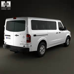 12 Passenger Nissan Nissan Nv Passenger Standard Roof 2013 3d Model