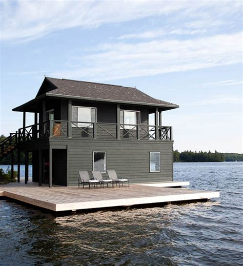 floating boat houses breathtaking boathouses you ll want to live in