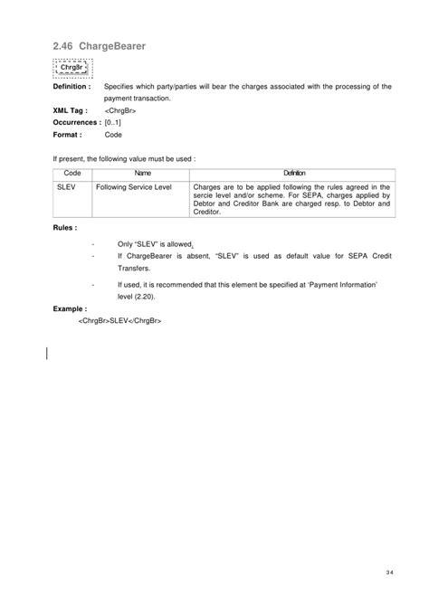 Sepa Credit Transfer Format Xml Message For Sepa Credit Transfer Initiation