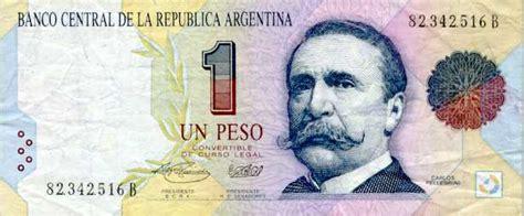 Peso Argentino Moneda Banderas De Pa 237 Ses