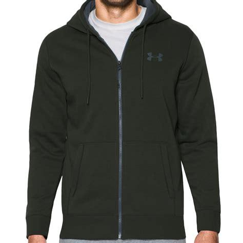 Jaket Hoodie Zippersweater Switer Armour Black armour ua mens rival fleece zip hoodie hoody sweatshirt jumper ebay