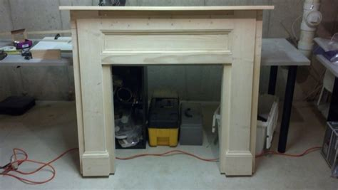 white my faux fireplace build diy projects