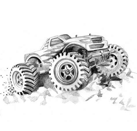 monster truck videos free free rc truck coloring pages
