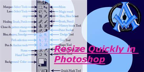 resize tools  adobe photoshop