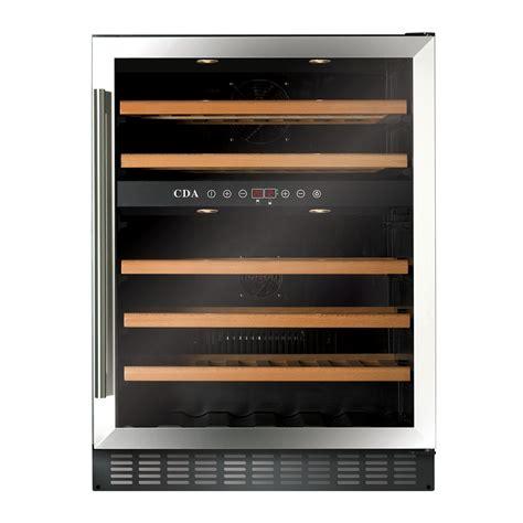 under cabinet wine cooler fwc603ss freestanding under counter wine cooler cda