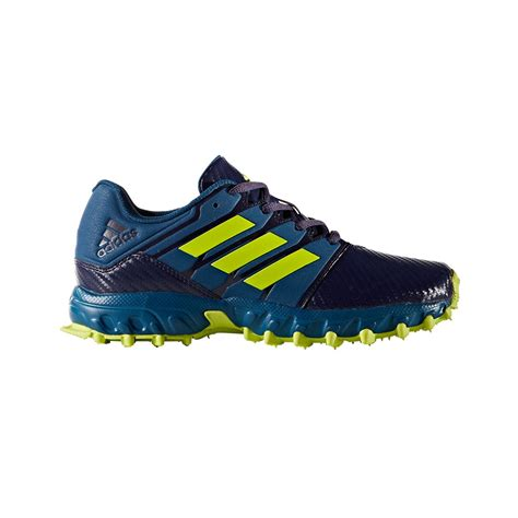 junior hockey shoes adidas junior blue yellow hockey shoes