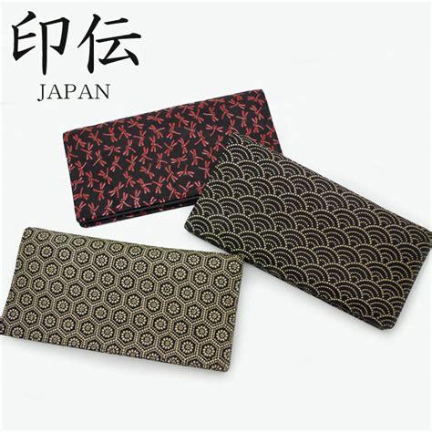 japanese leather wallet pattern monolog rakuten global market inden long wallet 047732