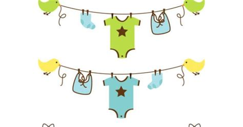 bathtub clothesline gallery for gt clothesline baby shower clipart
