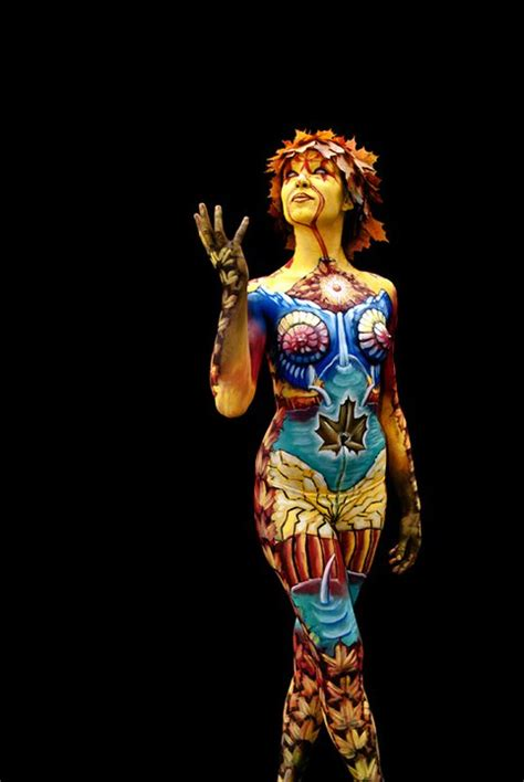 24 mind blowing body painting artworks from world body painting festival world of arts