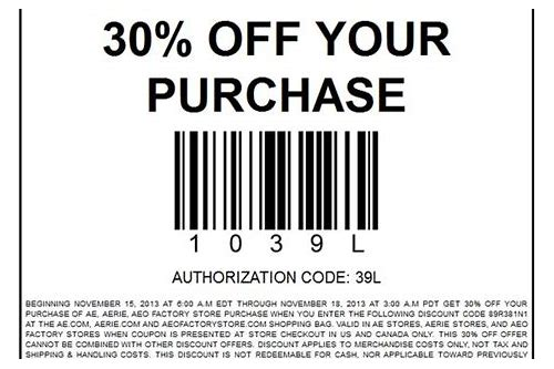 coupons american eagle
