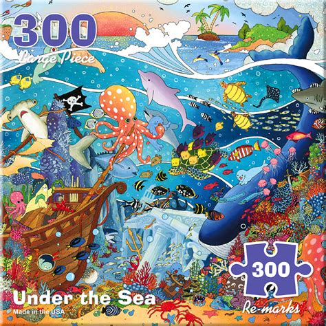 Puzzle Sea by The Sea Jigsaw Puzzle Puzzlewarehouse
