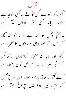 urdu + poetry mohsin naqvi poetry   urdu shairy   urdu