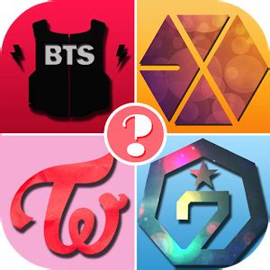 kpop quiz guess the logo android apps on google play