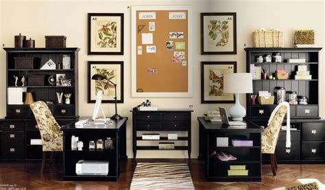 elegant home office elegant home office design with two desks for two