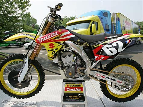 Makita Suzuki Dungey S Rm Z250 Photos Motorcycle Usa