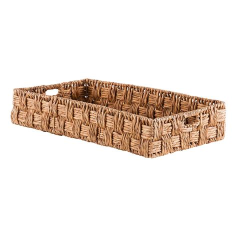 large basket for storing throw pillows storage bins with handles luxefinds shopping engine 150