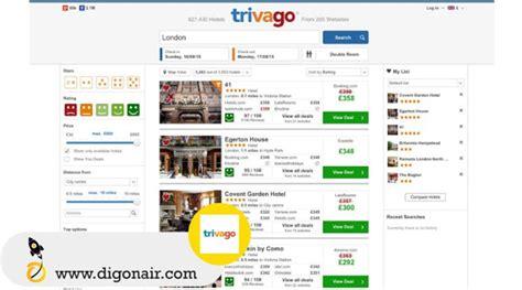 trivago mobile trivago travel and tourism mobile app digonair