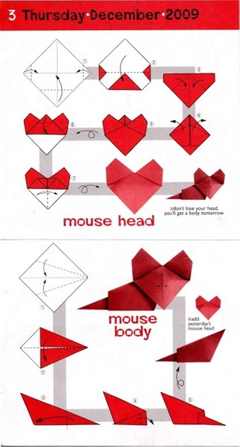 Origami Mice - 17 best images about origami animals mouse on