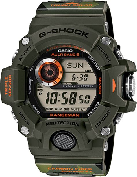 Gw Elze Top In Navy casio g shock rangeman gw 9400 all models released