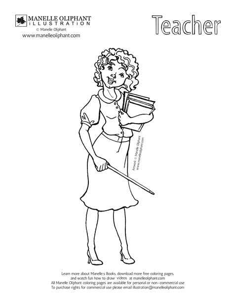 best free teacher coloring pages coloring home