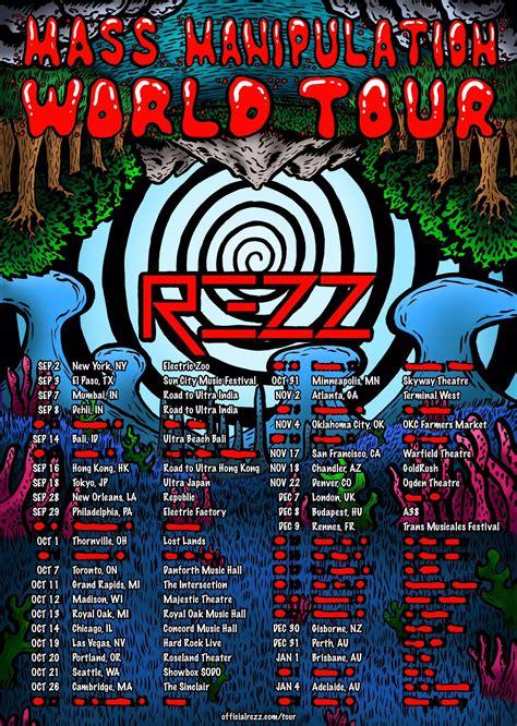 World Tour rezz announces mass manipulation world tour dates and