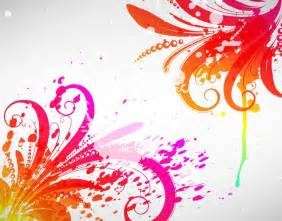 Free abstract colored design vector graphic free vector graphics